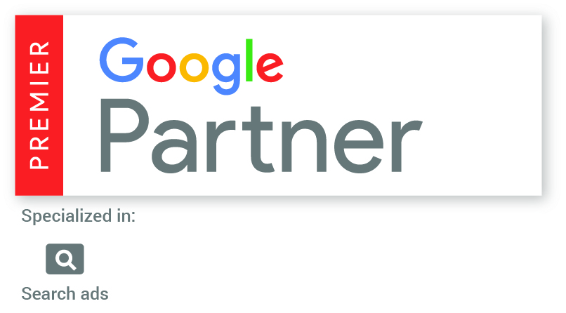 Google Premier Partner Badge With Search