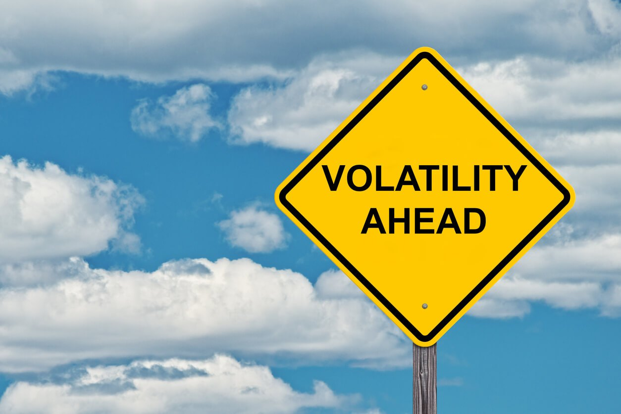 volatility ahead yield sign