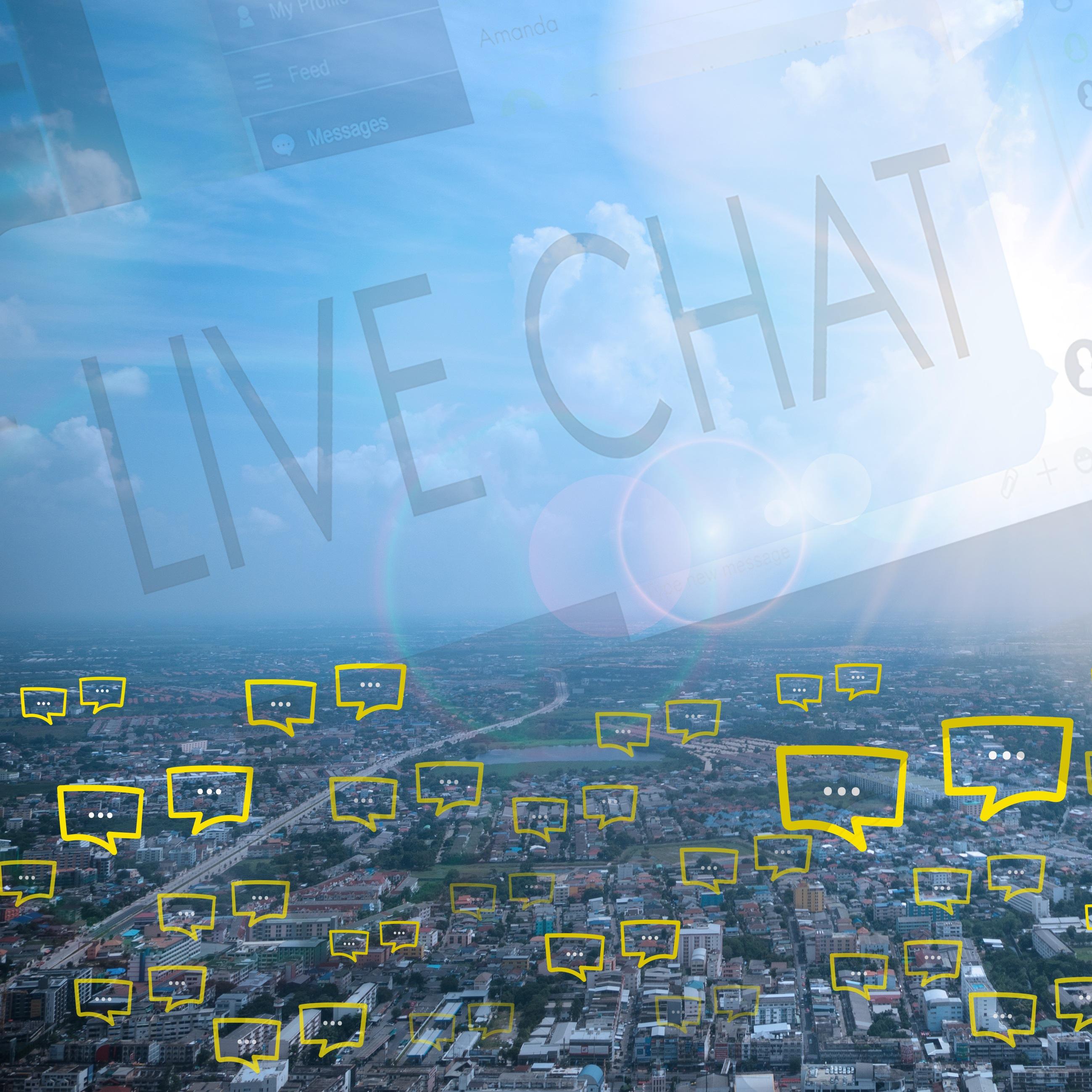 live chats